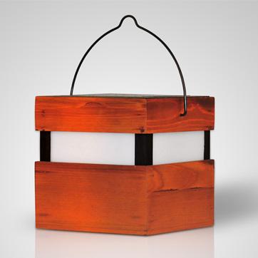 Holz Solarlicht